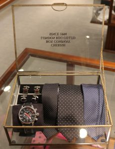 Accessoires stropdassen en horloges